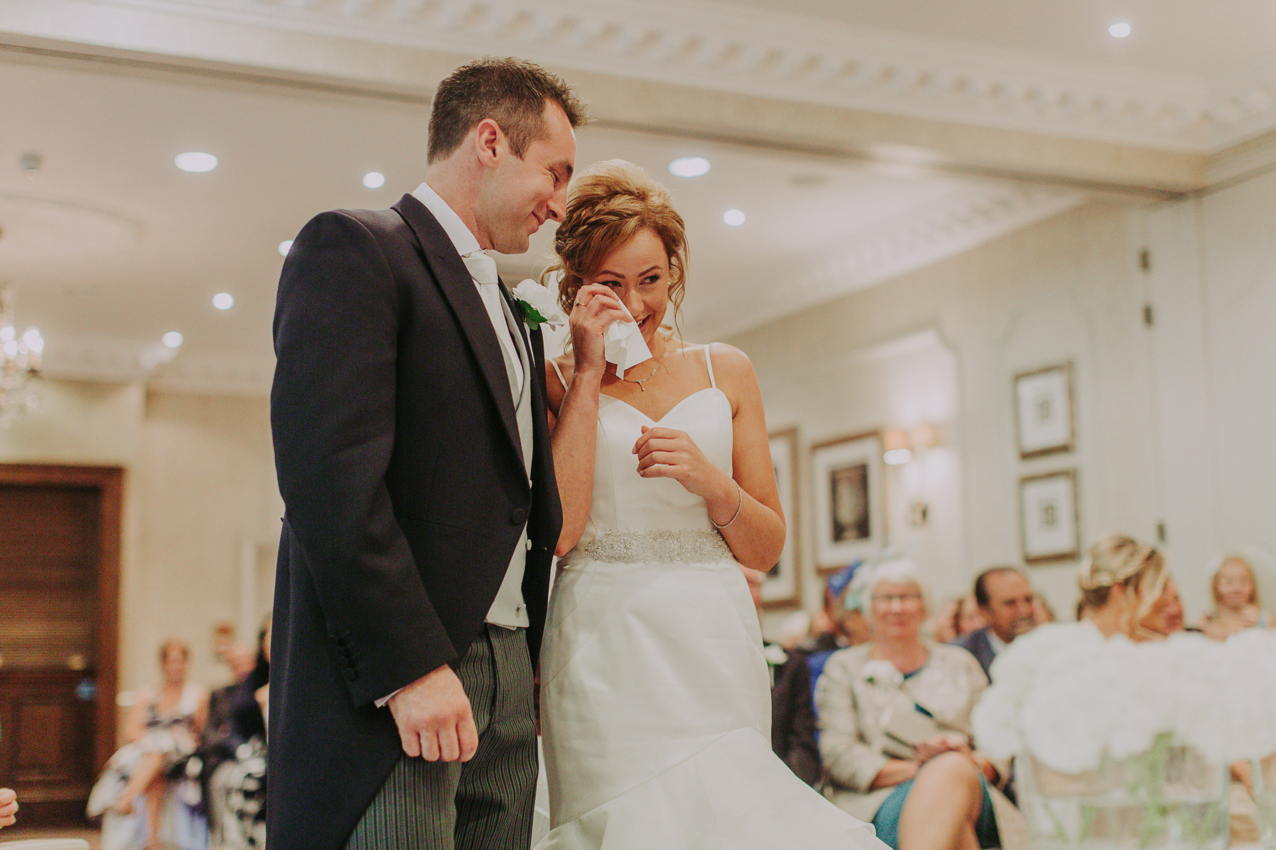 Meg & Jon | Wood Hall Hotel Wedding 323