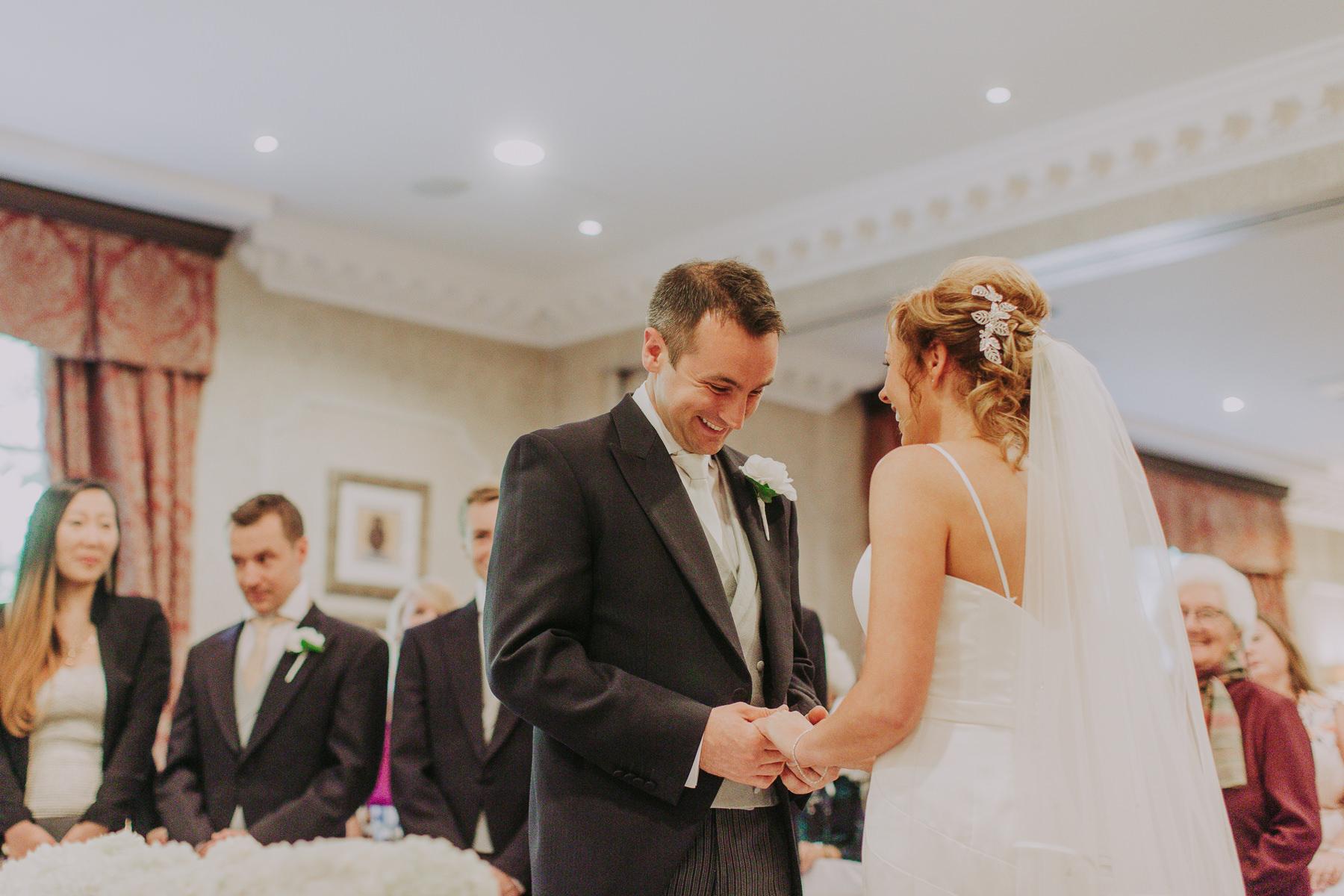 Meg & Jon | Wood Hall Hotel Wedding 324