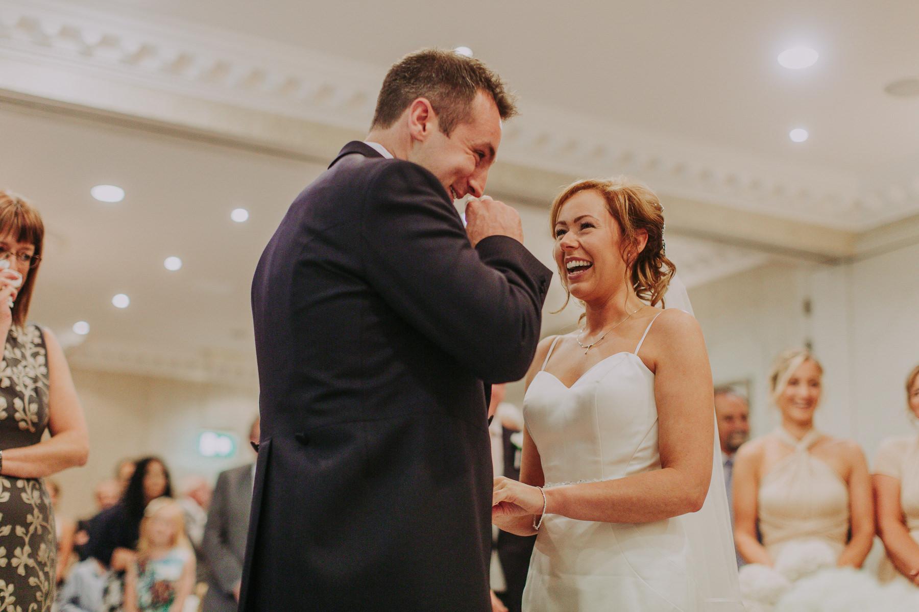 Meg & Jon | Wood Hall Hotel Wedding 325