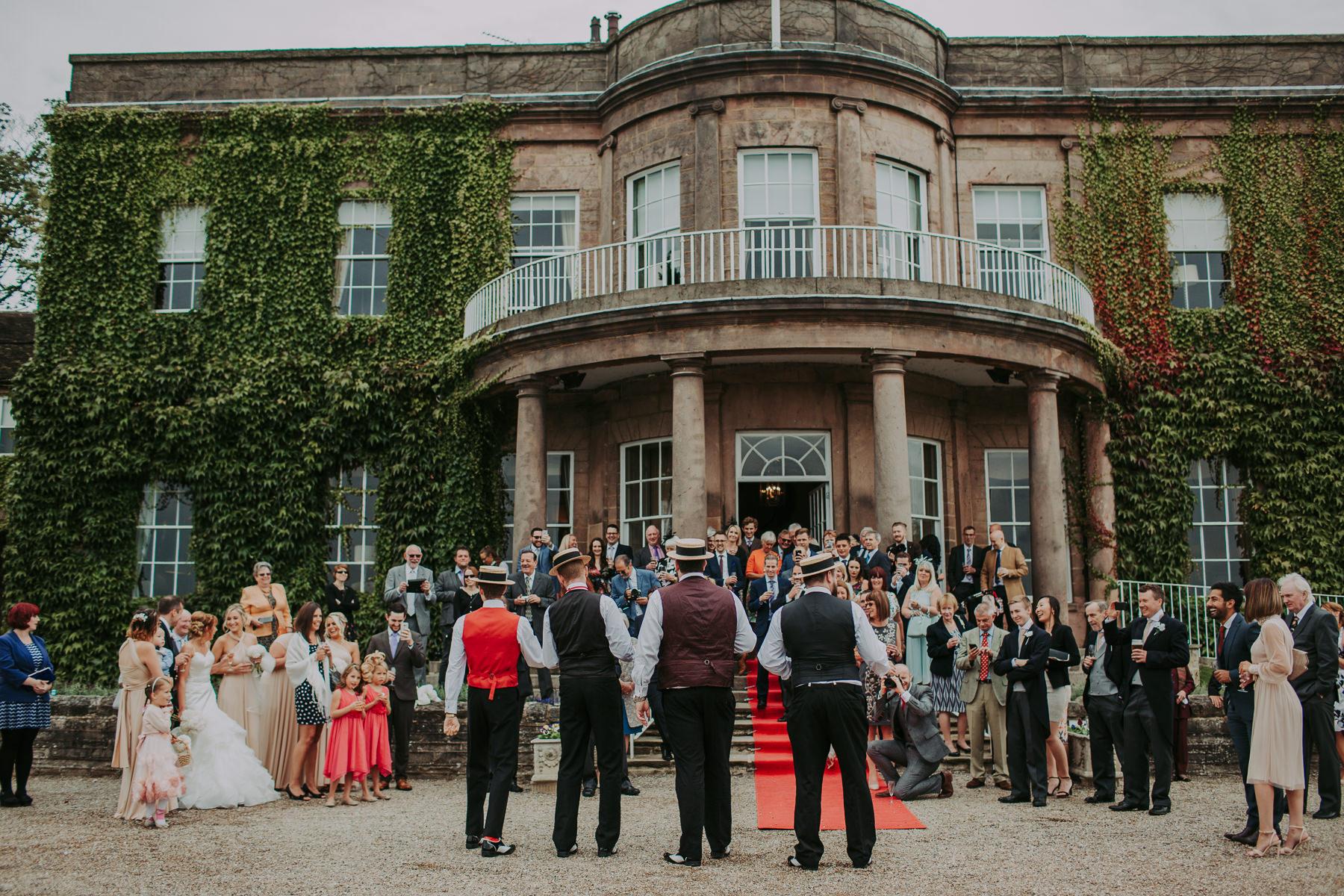 Meg & Jon | Wood Hall Hotel Wedding 346