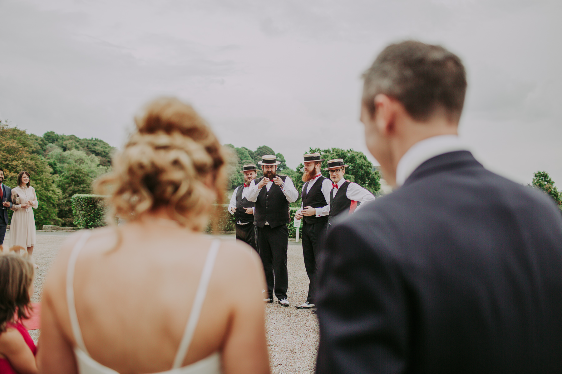 Meg & Jon | Wood Hall Hotel Wedding 347