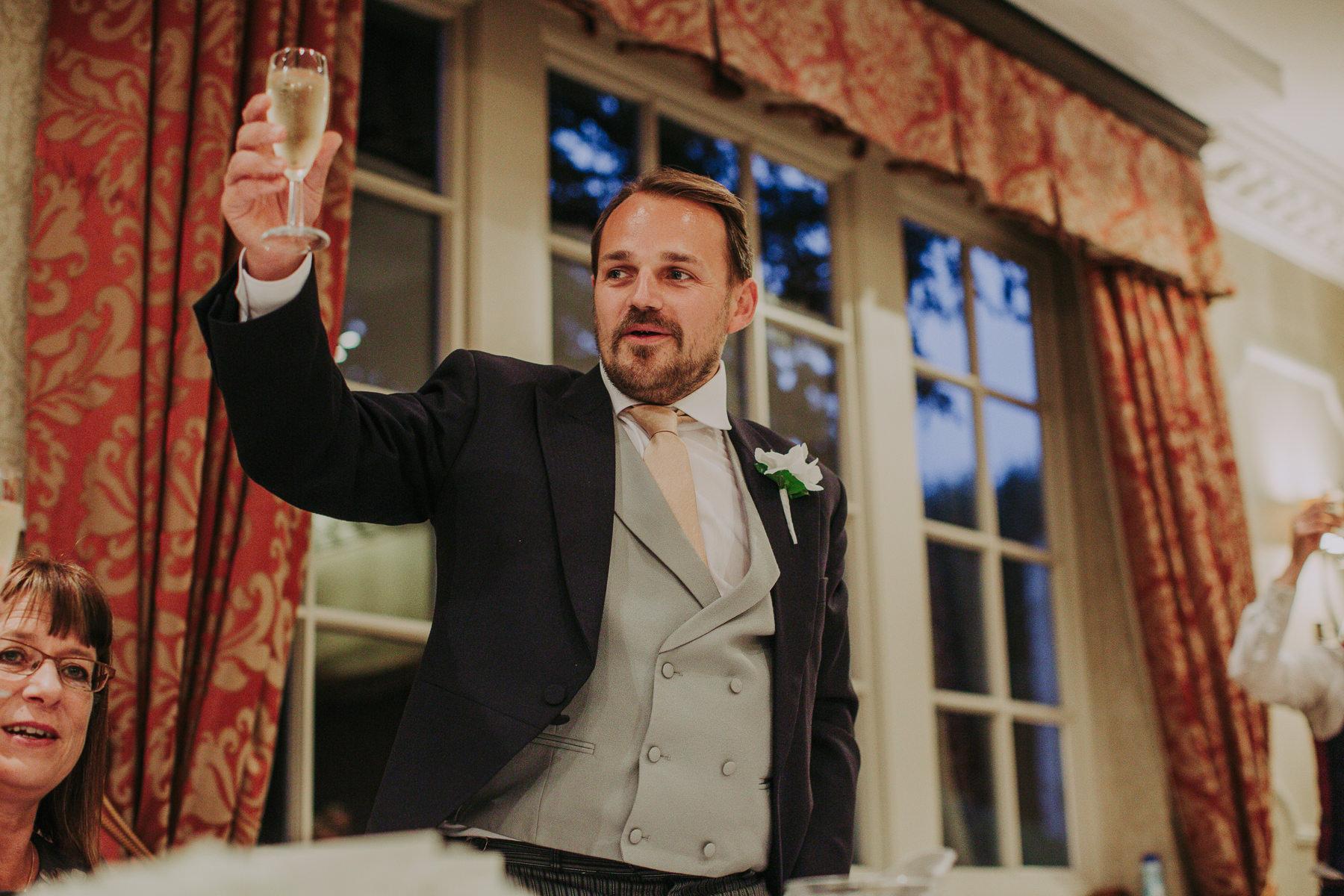 Meg & Jon | Wood Hall Hotel Wedding 83