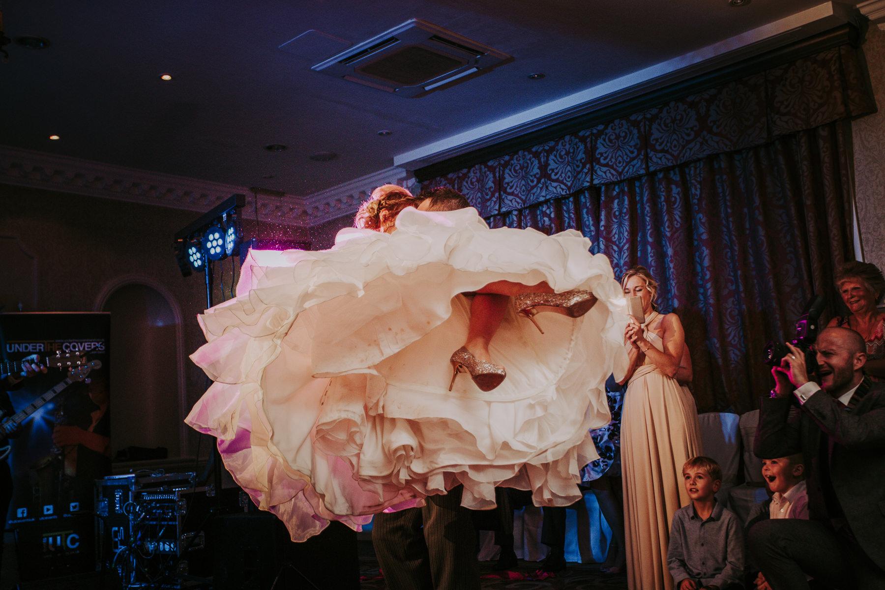 Meg & Jon | Wood Hall Hotel Wedding 364