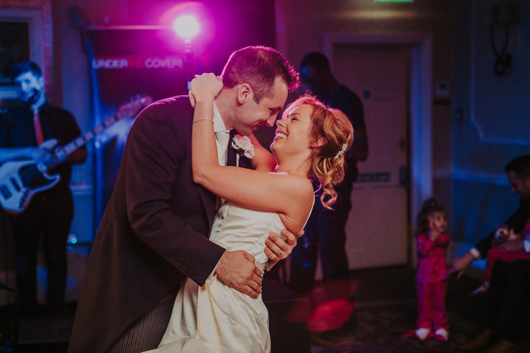 Meg & Jon | Wood Hall Hotel Wedding 366