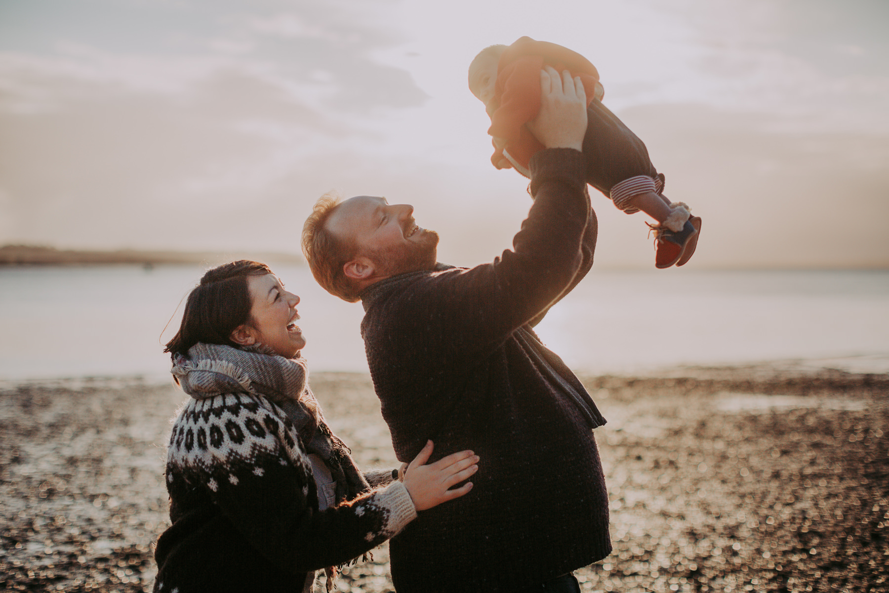 Family photography at the Humberbridge