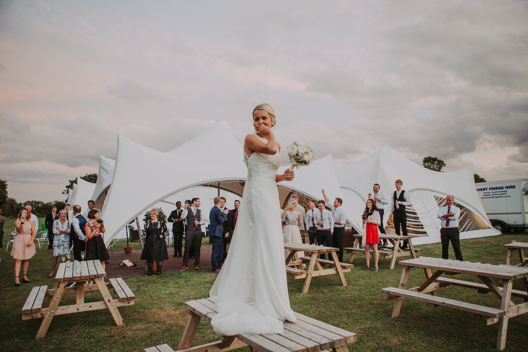 York Marquee Wedding