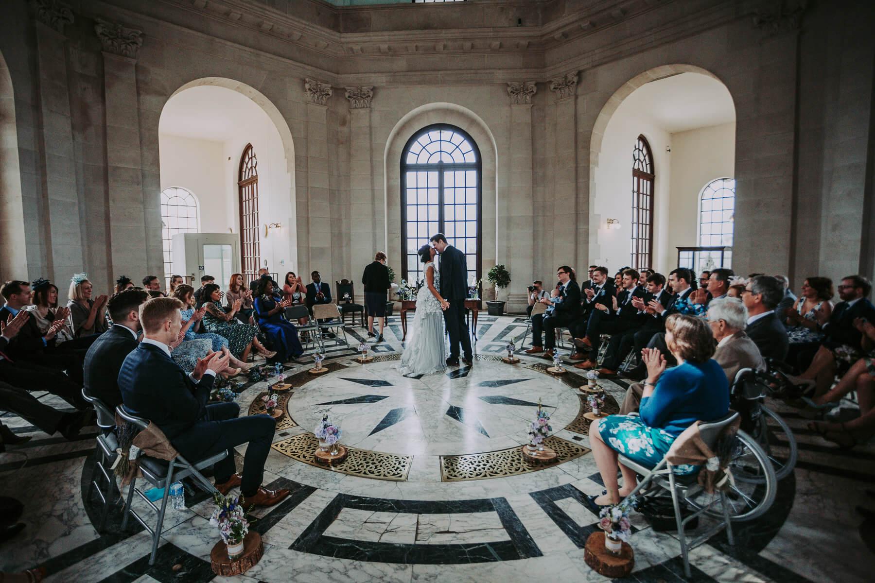 Lancaster Memorial wedding