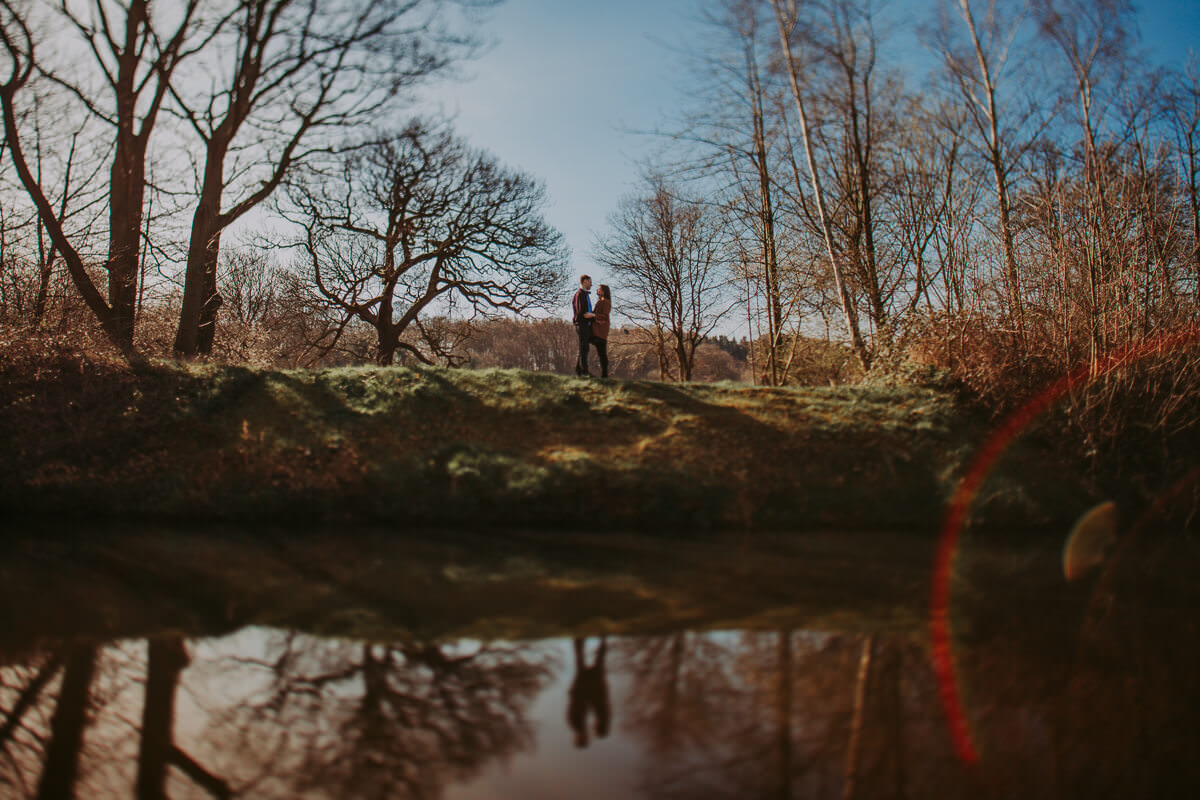 Ruth & Tom | Yorkshire Sculpture Park engagement shoot 12