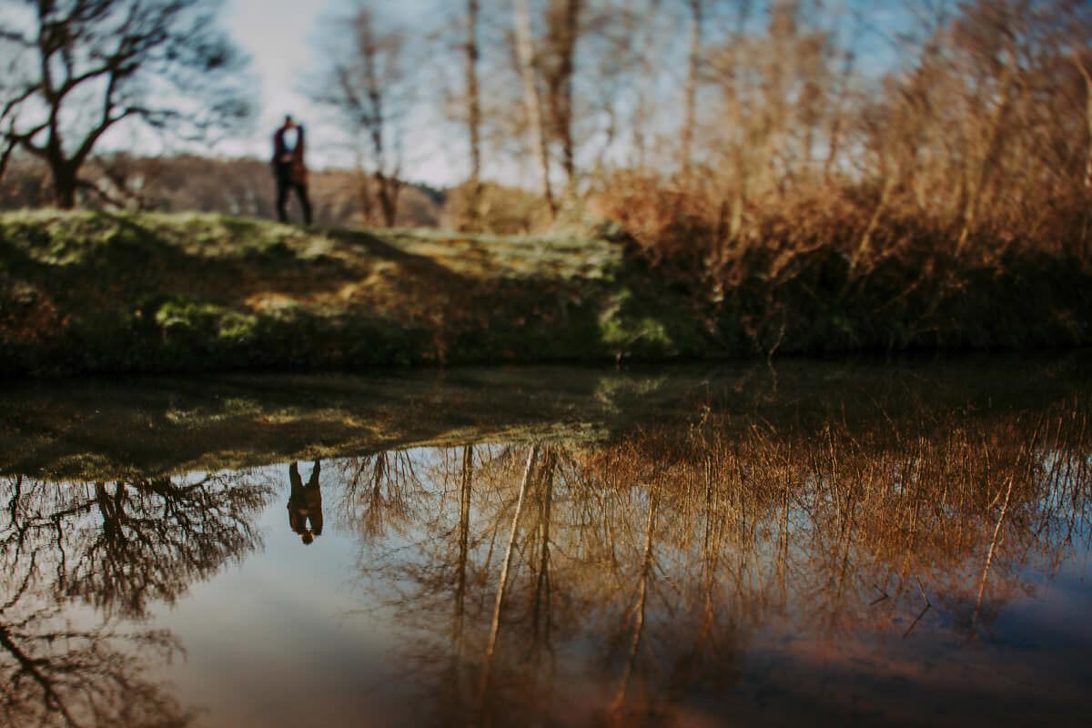 Yorkshire Sculpture Park engagement shoot