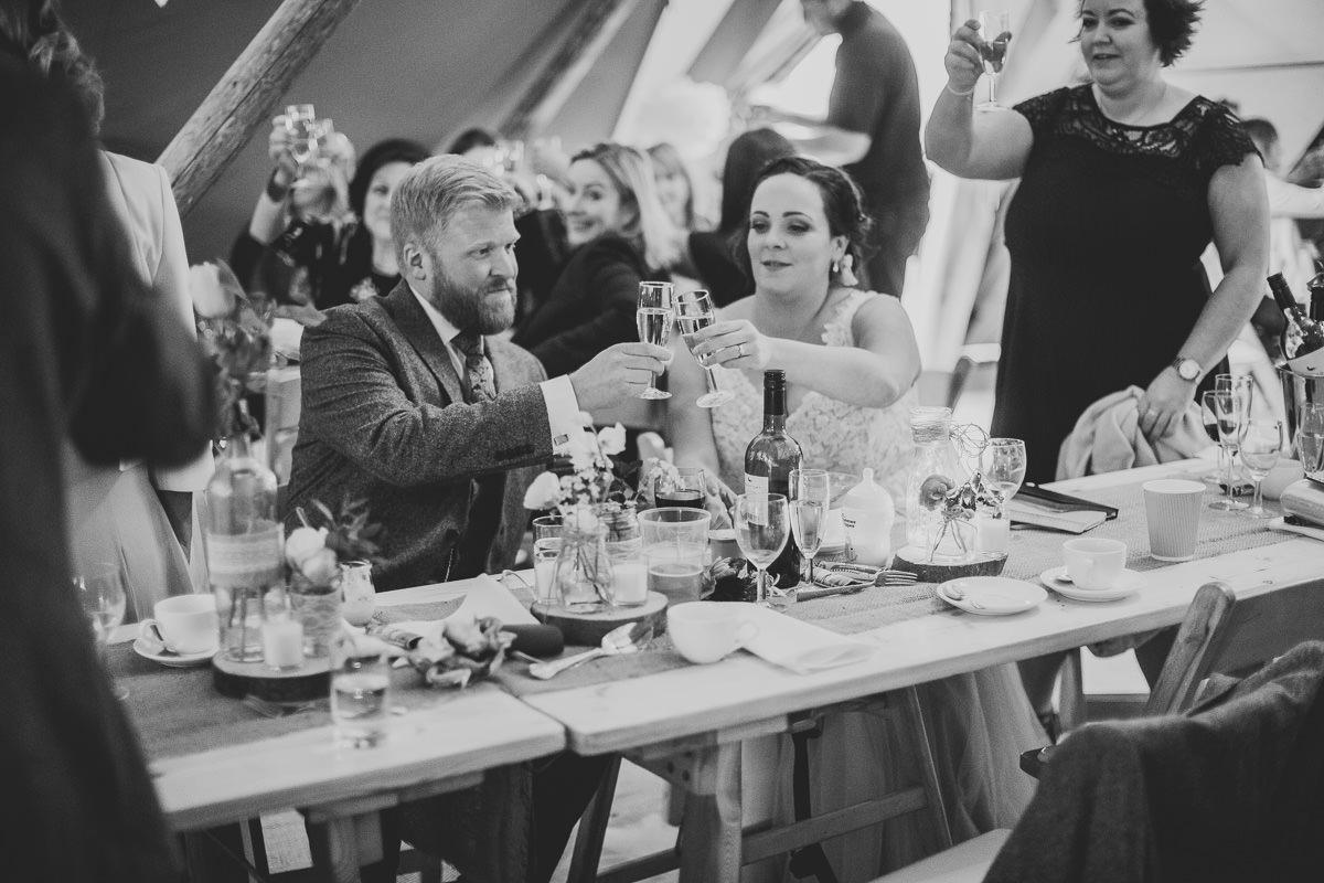 Kerry & Jonathan   Skipbridge Farm Wedding 96