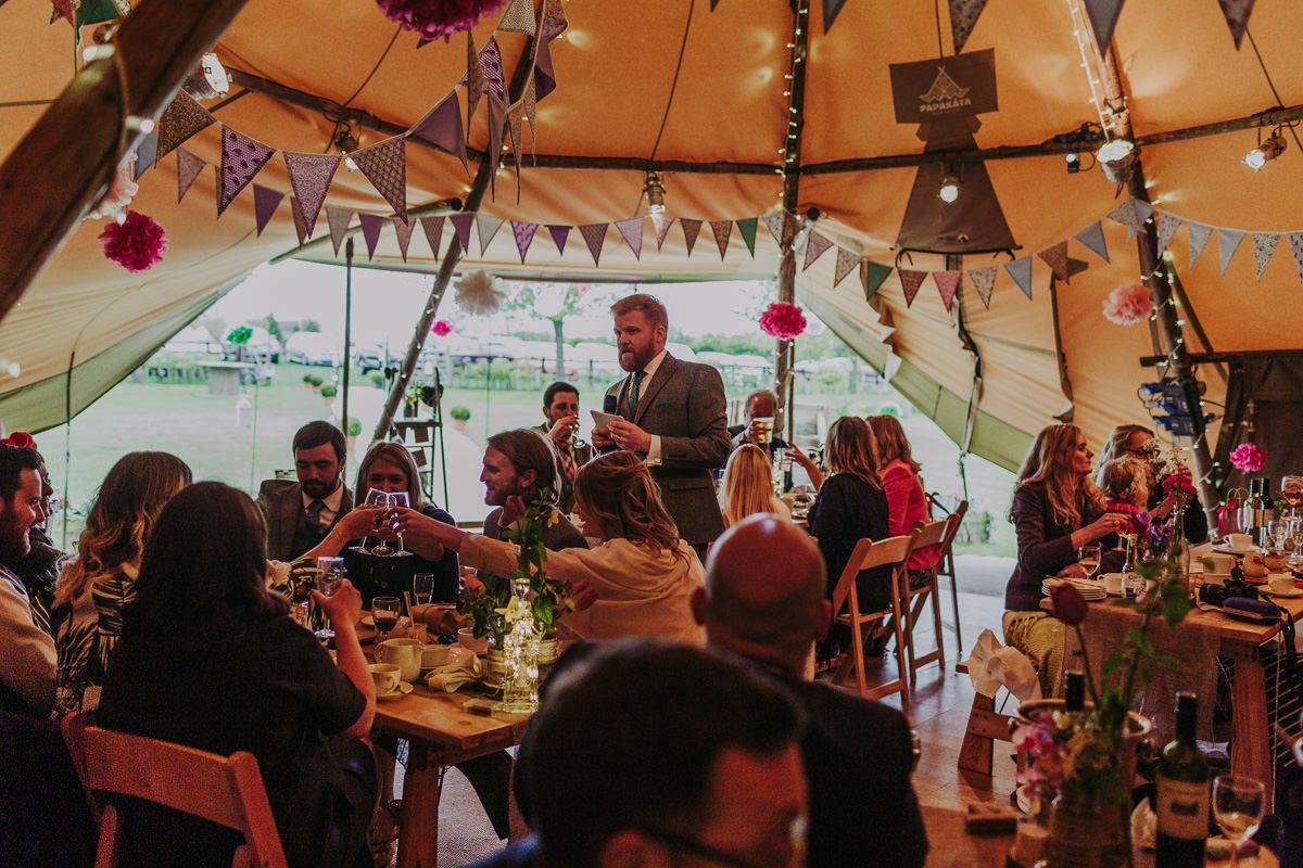 Kerry & Jonathan   Skipbridge Farm Wedding 98