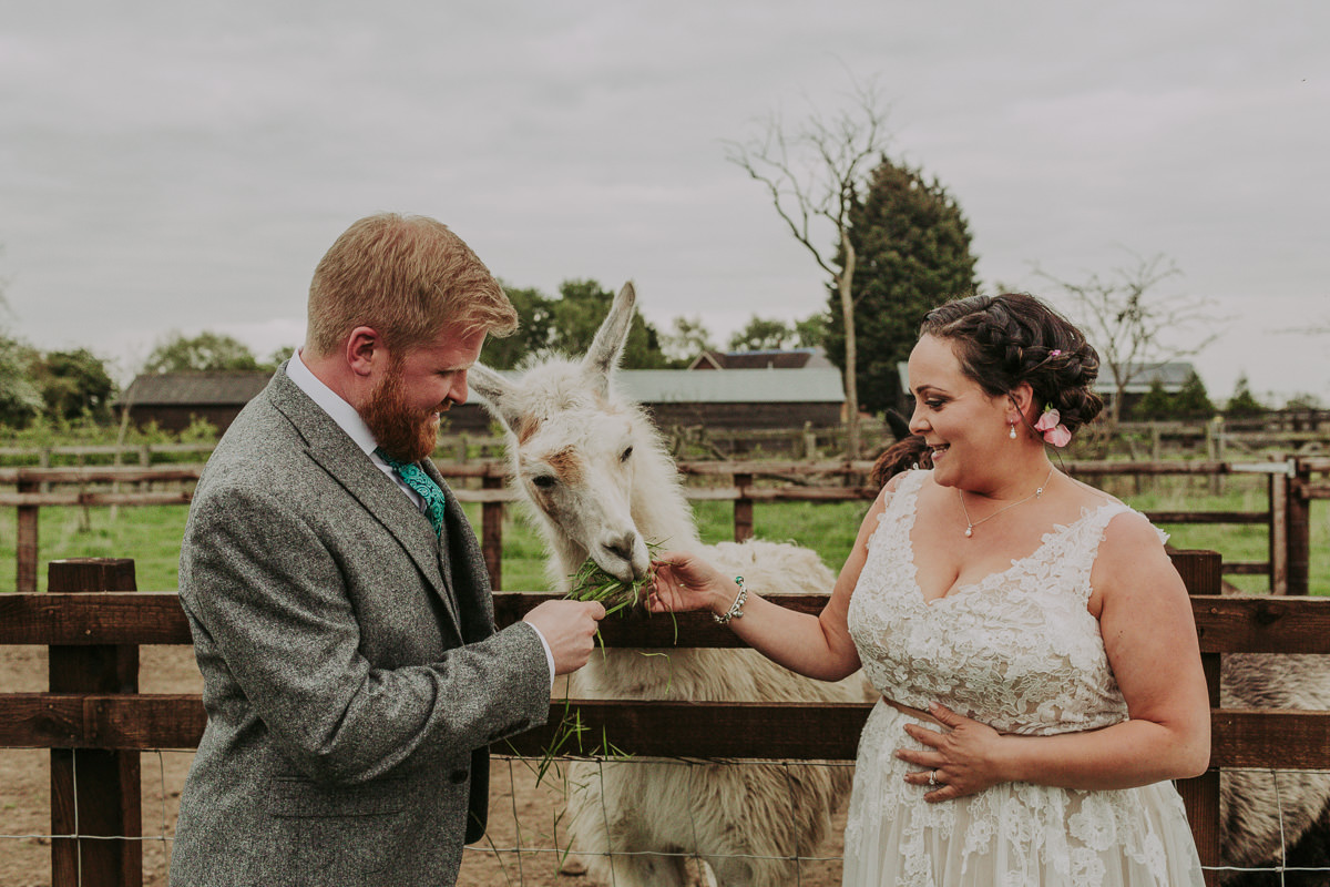 Kerry & Jonathan | Skipbridge Farm Wedding 105