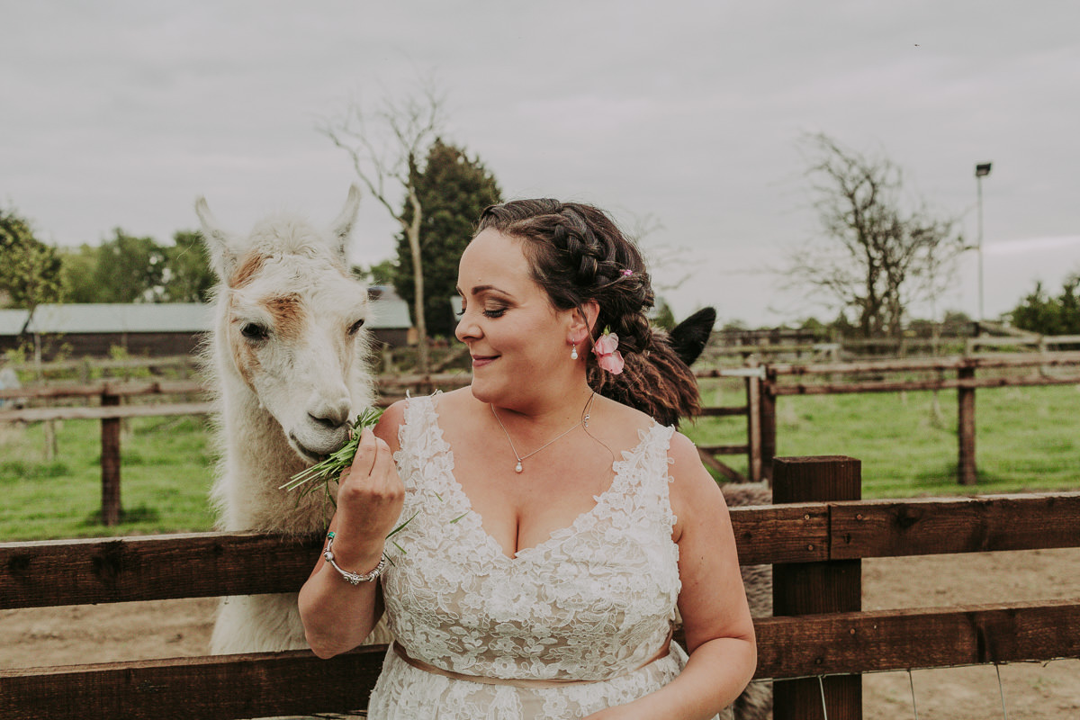Kerry & Jonathan | Skipbridge Farm Wedding 106
