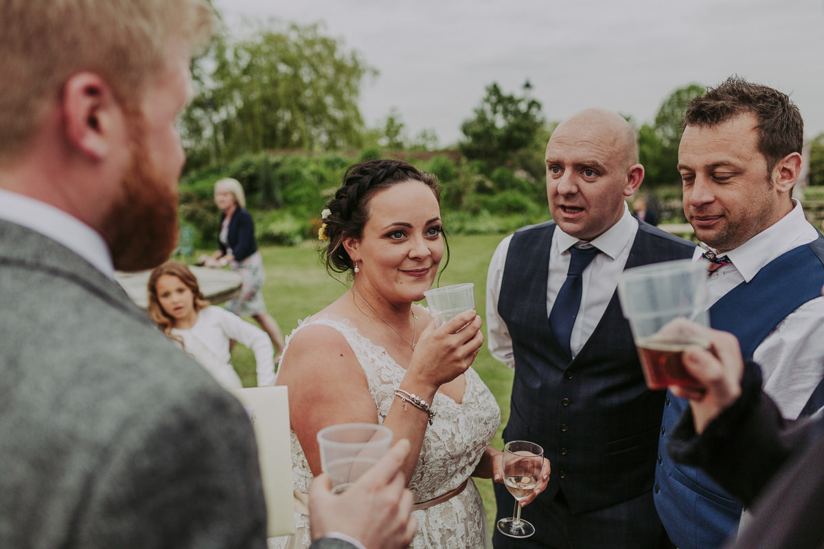 guest at Skipbridge Farm Wedding