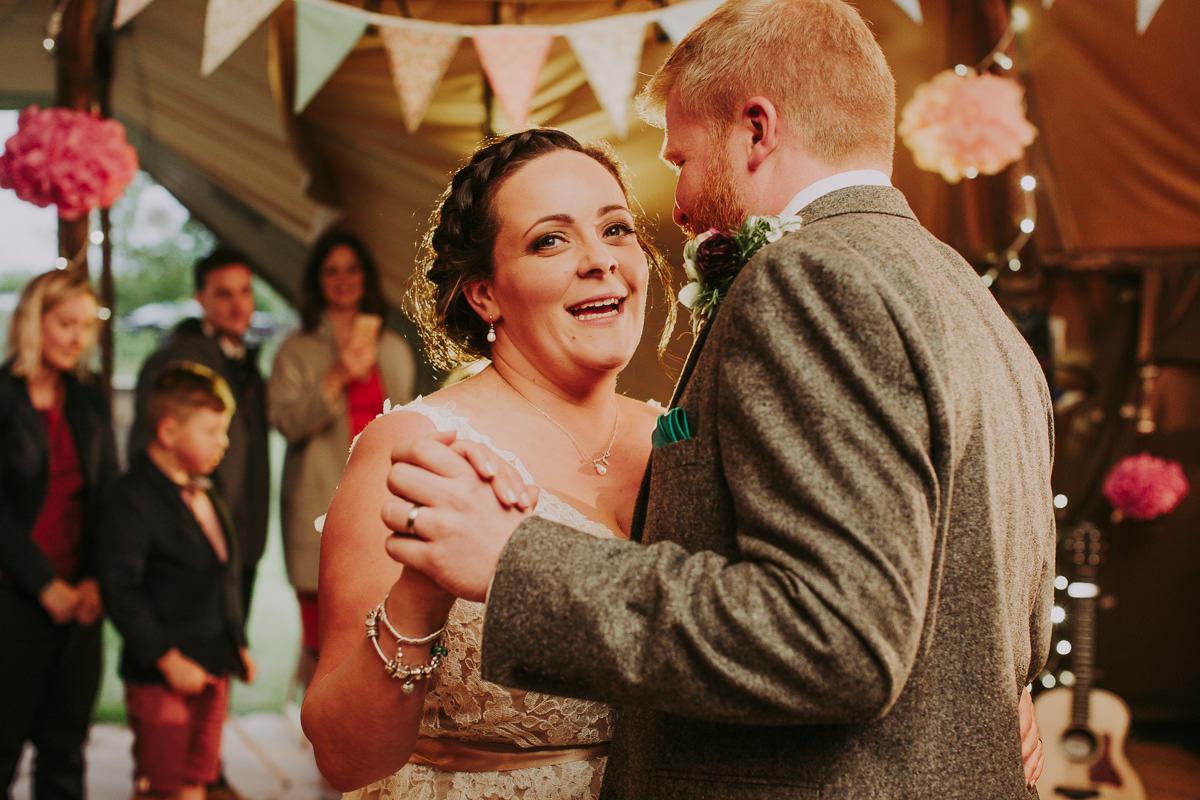Kerry & Jonathan   Skipbridge Farm Wedding 114