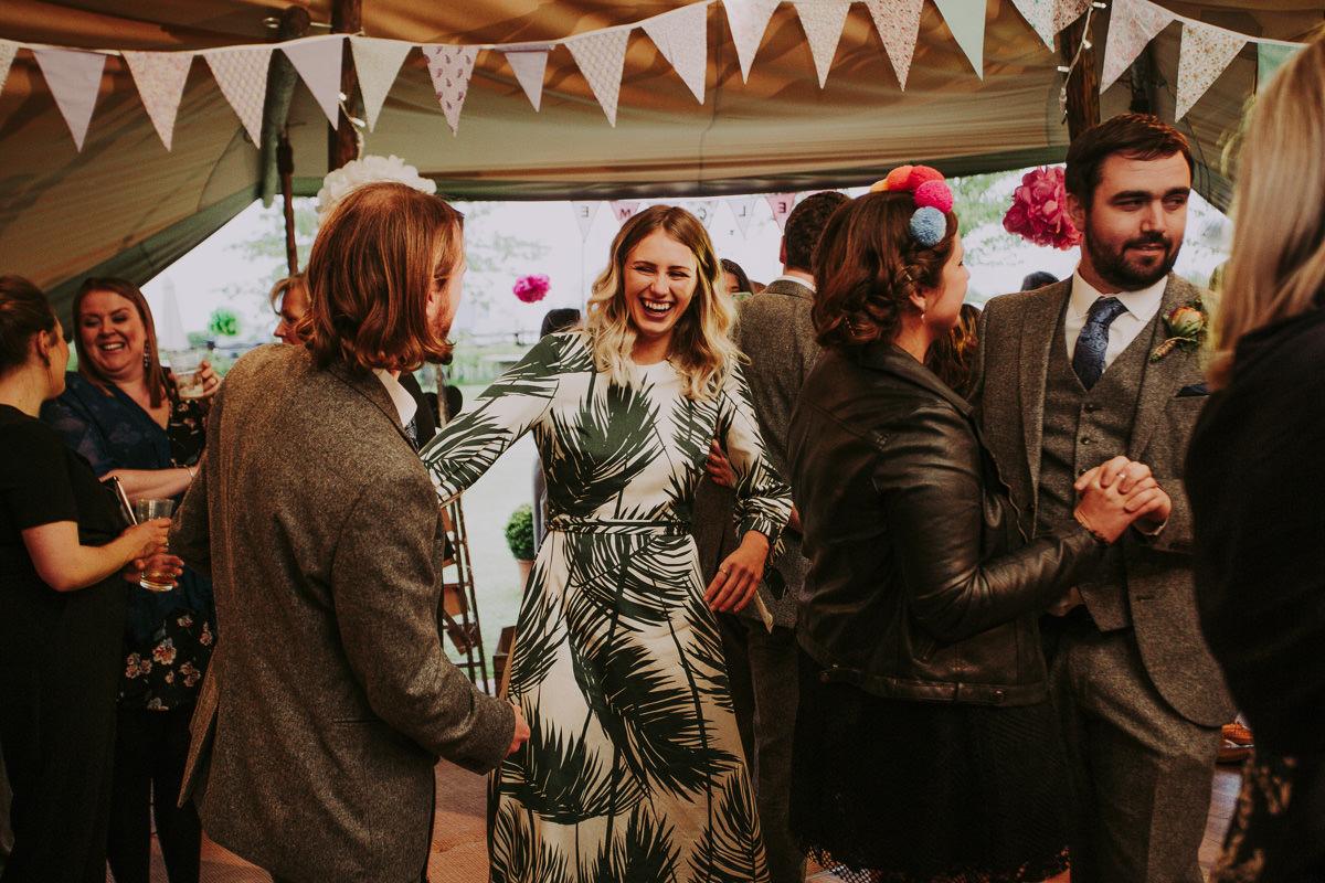 Kerry & Jonathan   Skipbridge Farm Wedding 116