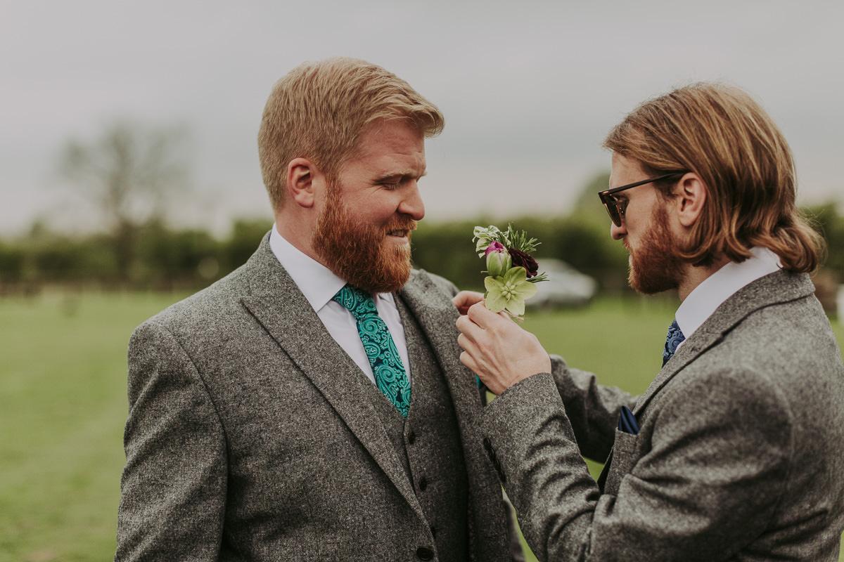 Kerry & Jonathan | Skipbridge Farm Wedding 141