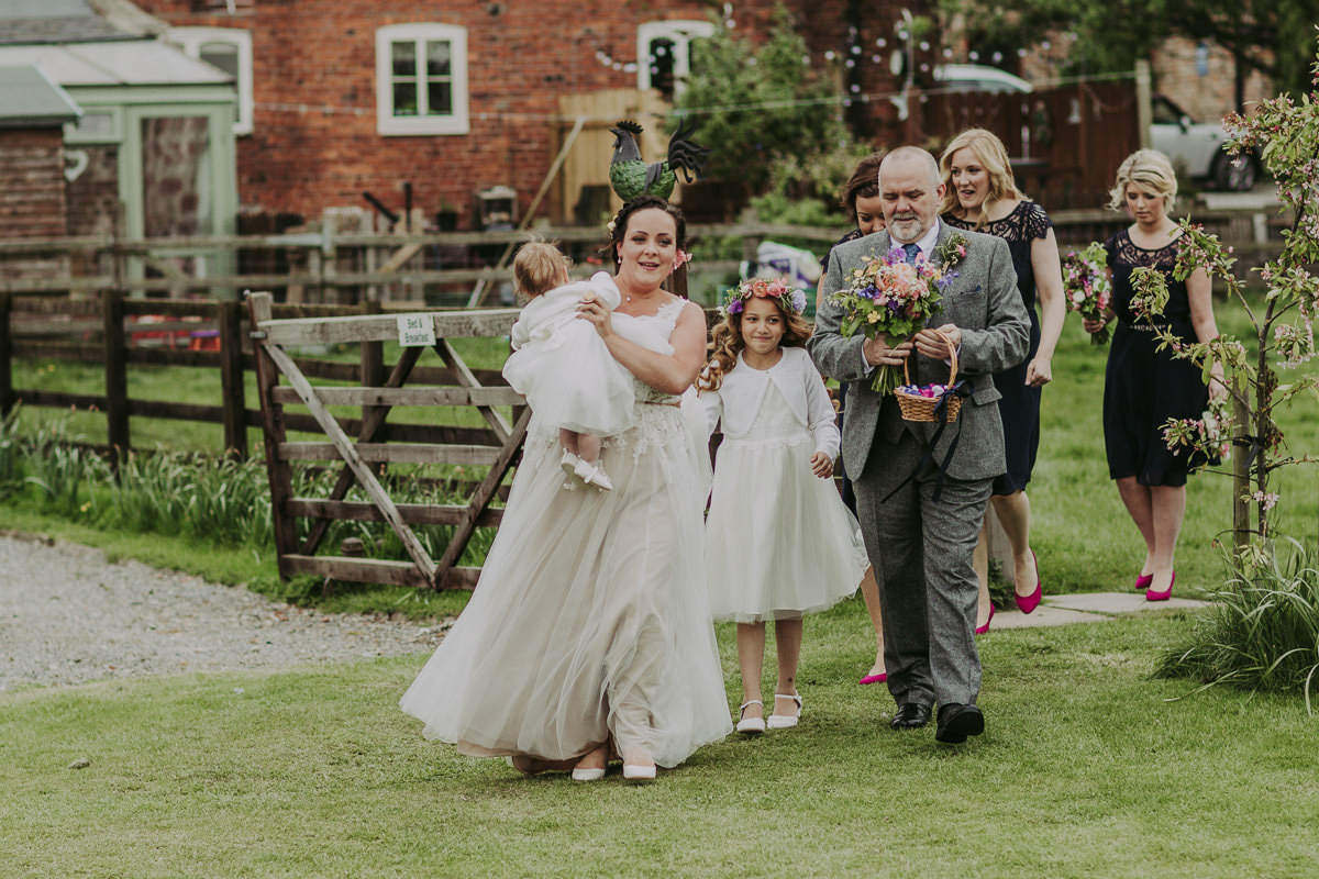 Kerry & Jonathan | Skipbridge Farm Wedding 154
