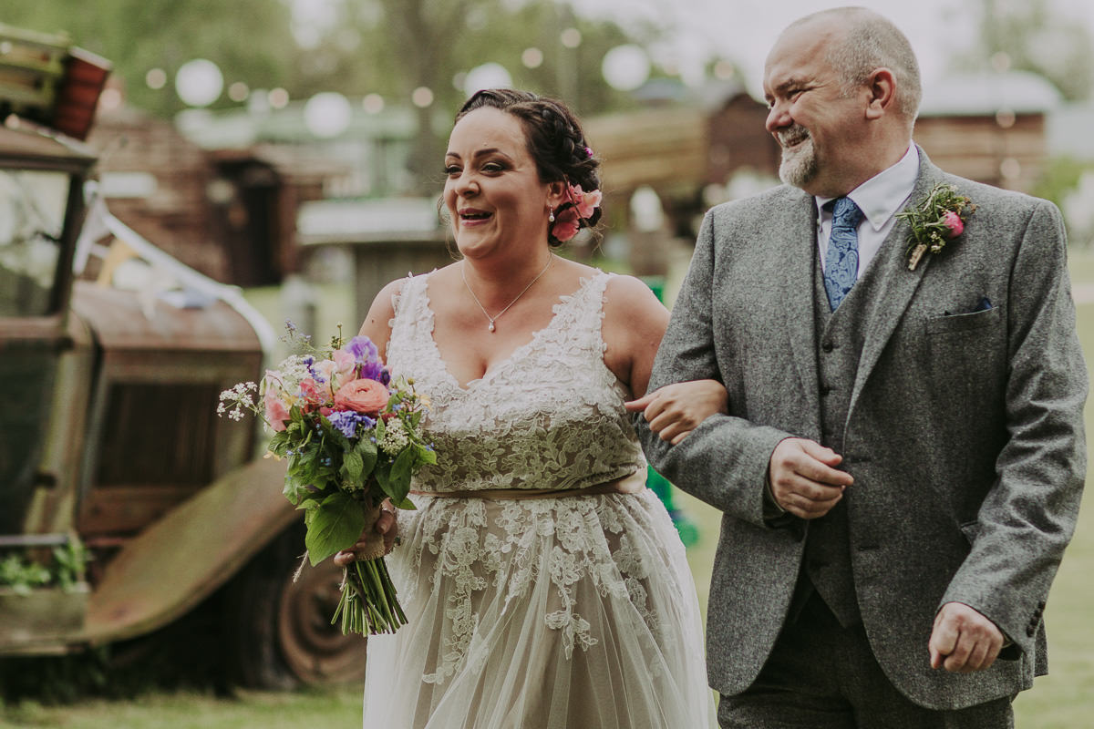 Kerry & Jonathan | Skipbridge Farm Wedding 42