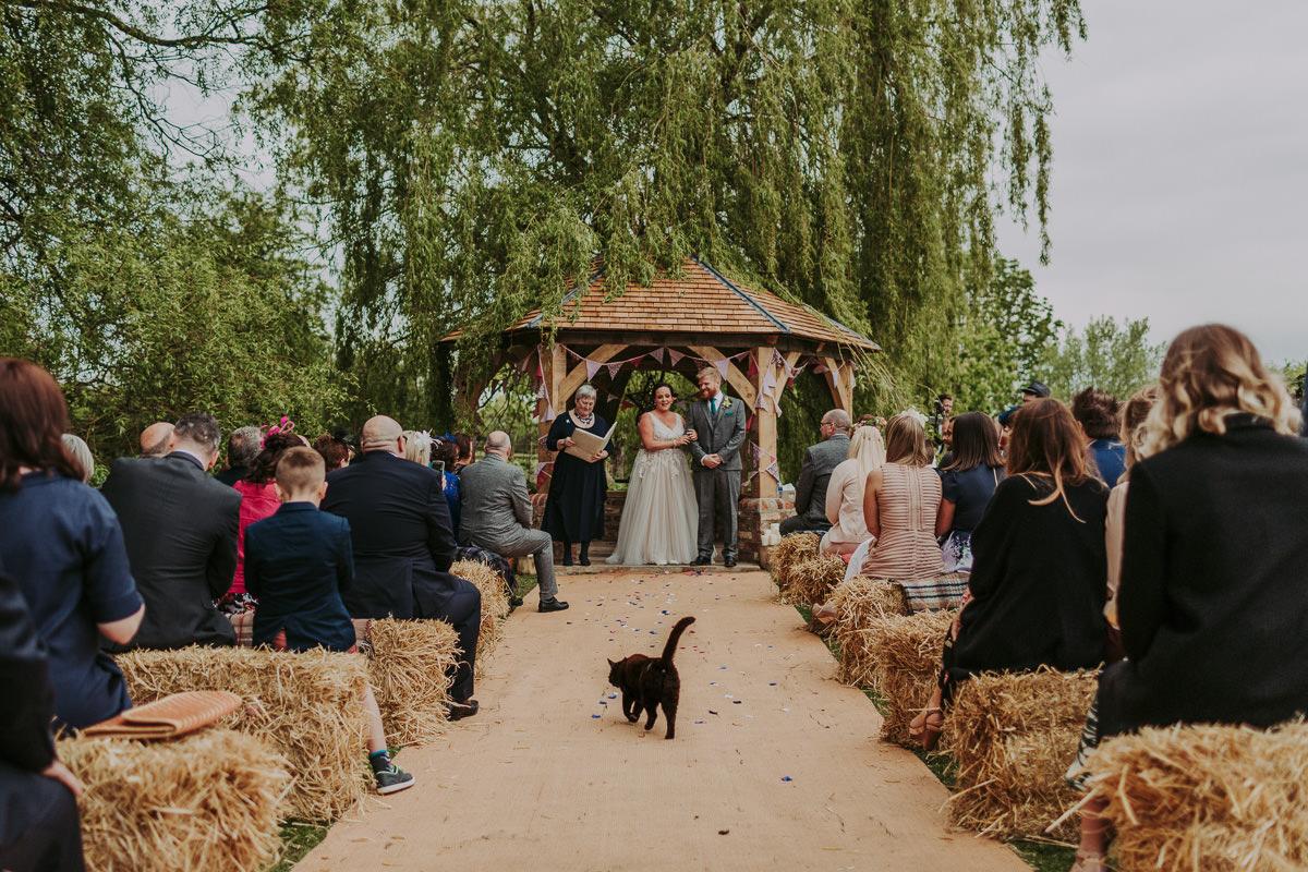Kerry & Jonathan   Skipbridge Farm Wedding 43