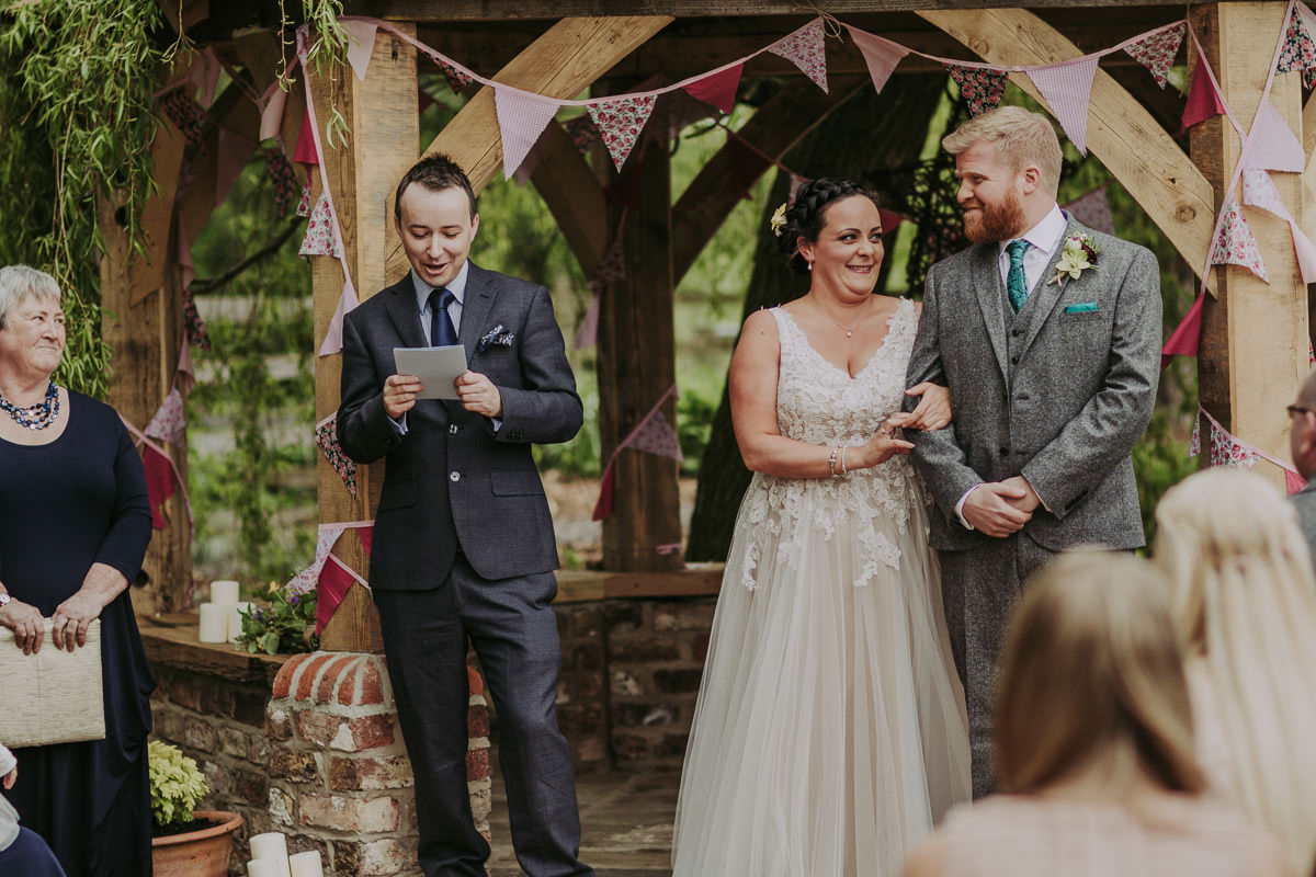 Kerry & Jonathan | Skipbridge Farm Wedding 45