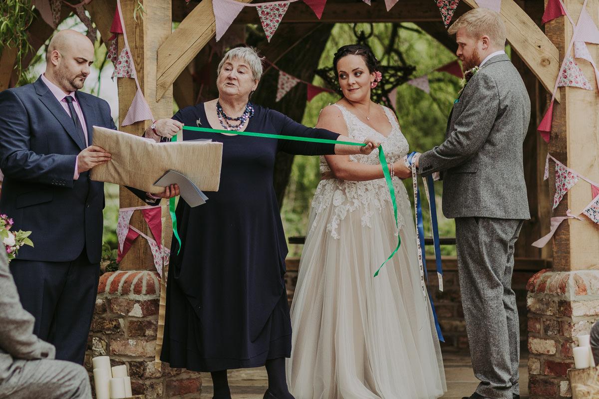 Kerry & Jonathan   Skipbridge Farm Wedding 56