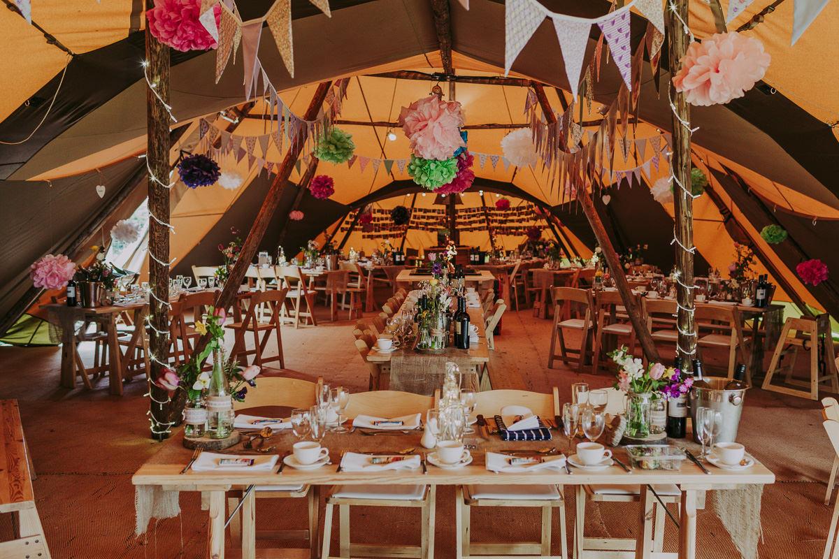 Kerry & Jonathan   Skipbridge Farm Wedding 67