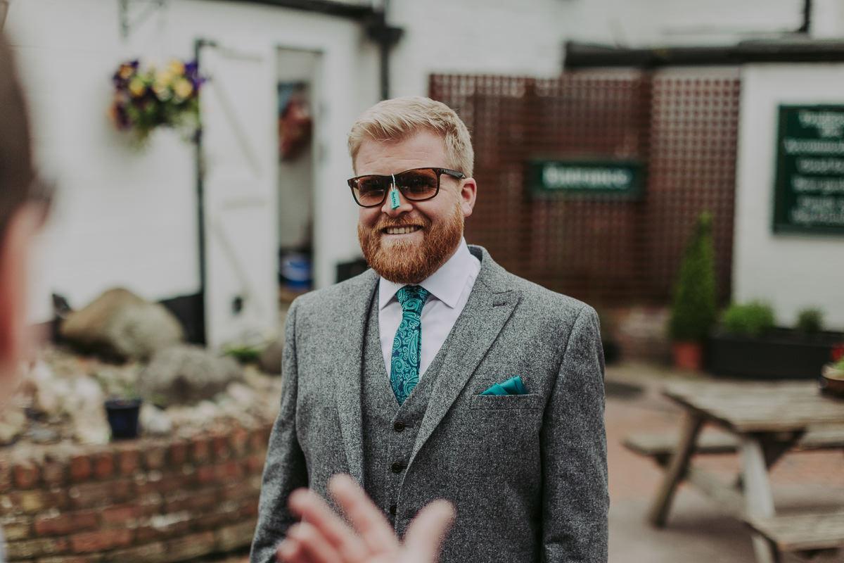 Kerry & Jonathan   Skipbridge Farm Wedding 7
