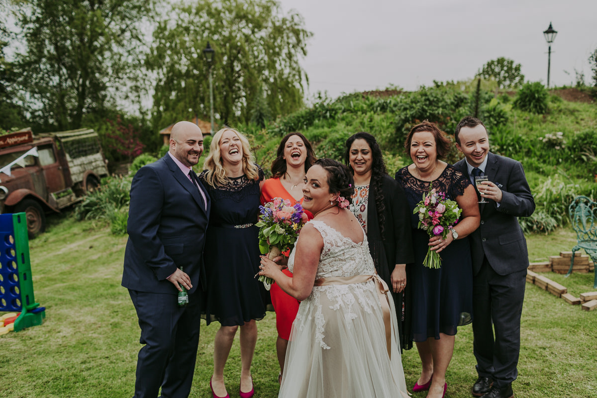 Kerry & Jonathan | Skipbridge Farm Wedding 76