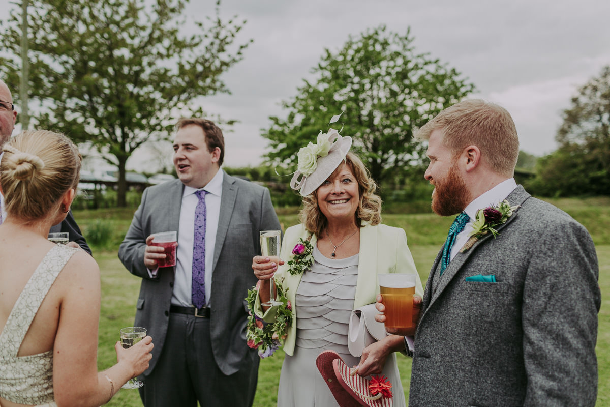 Kerry & Jonathan   Skipbridge Farm Wedding 77