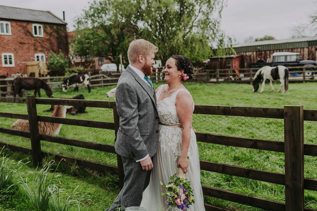 Kerry & Jonathan   Skipbridge Farm Wedding 86