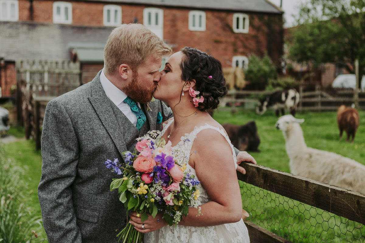Kerry & Jonathan | Skipbridge Farm Wedding 87