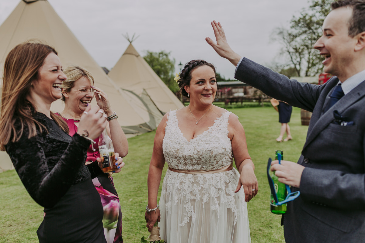 Kerry & Jonathan | Skipbridge Farm Wedding 88