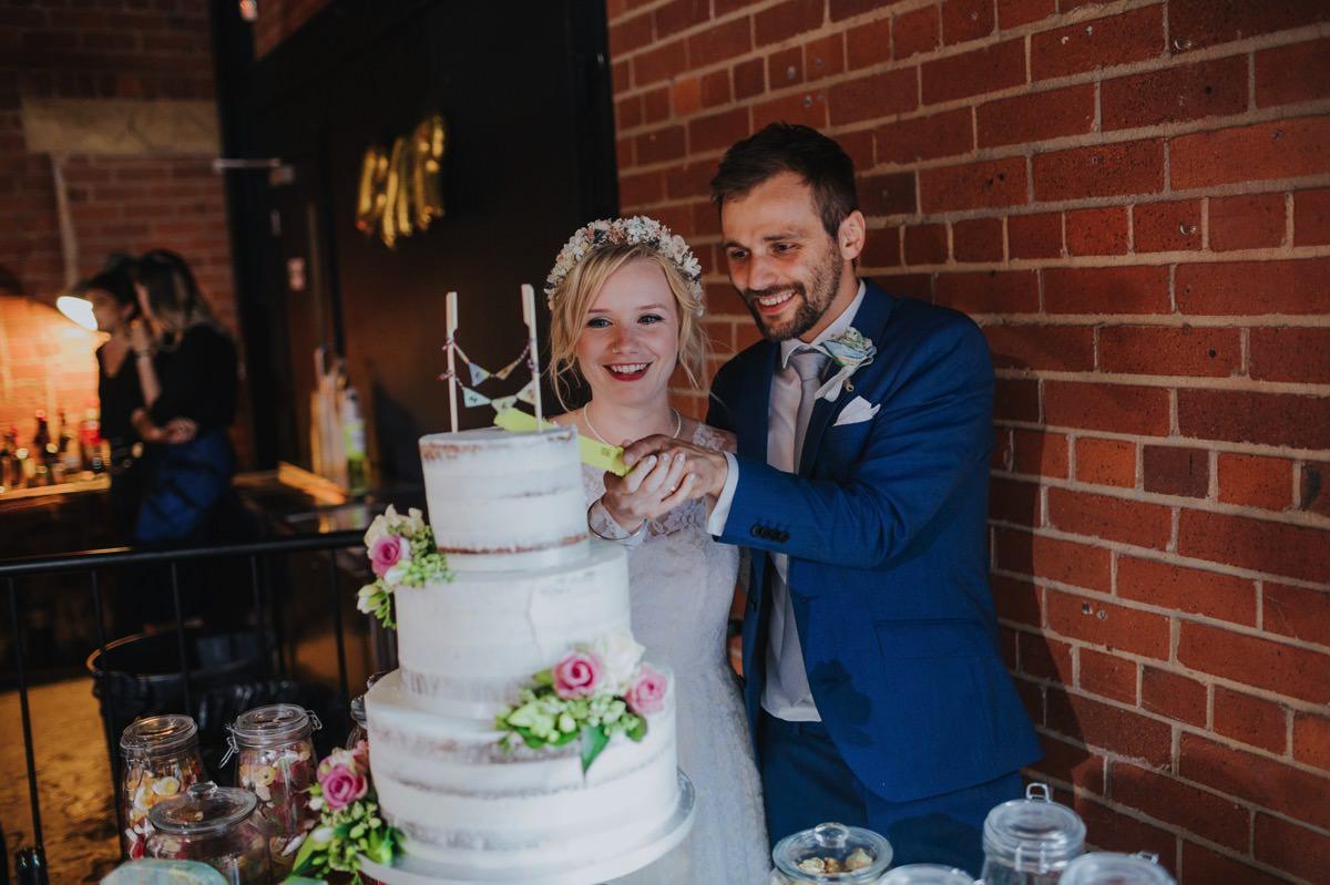 Rose & David | Duke Studios Wedding 139
