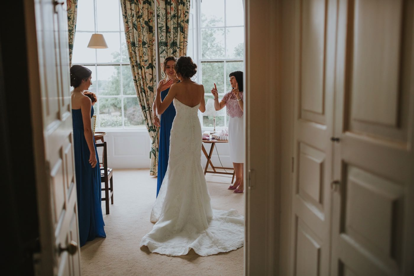 Matt & Emma | Hooton Pagnell Hall & Stable Arches 38