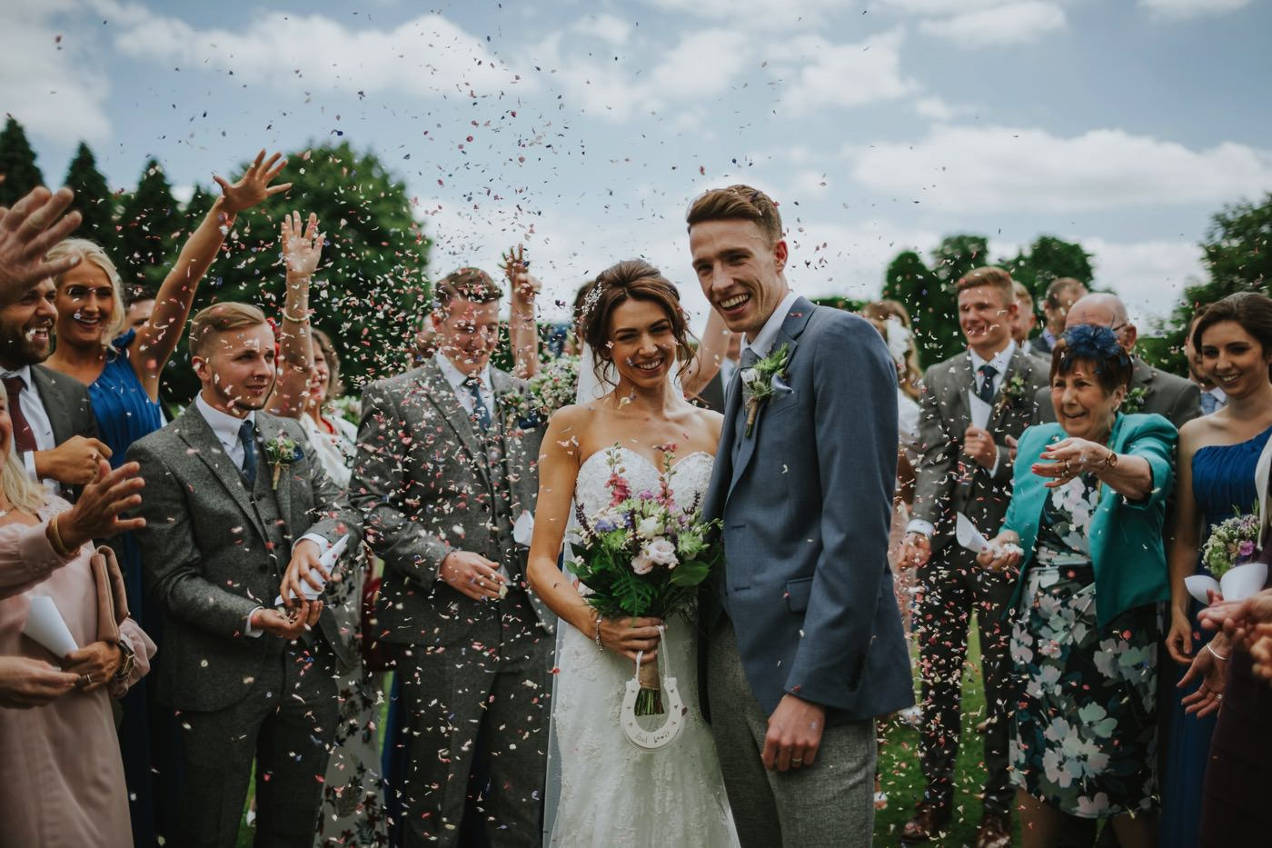 Matt & Emma | Hooton Pagnell Hall & Stable Arches 57