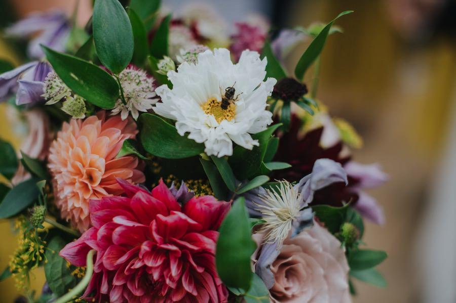 flowers at Sun Pavilion Wedding