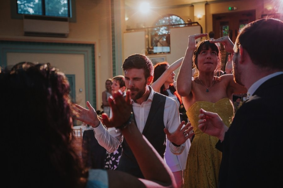 The Sun Pavilion Wedding dancing