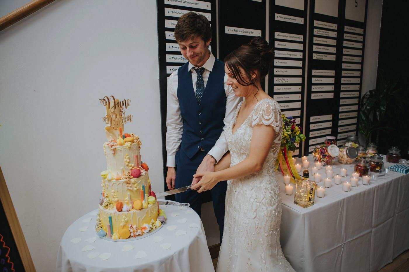 Rebecca & Duncan | Workstation Sheffield Wedding 144