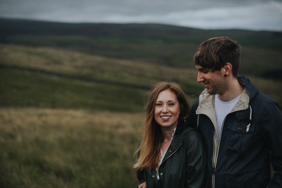Sara & Dan | Yorkshire Dales engagement 1