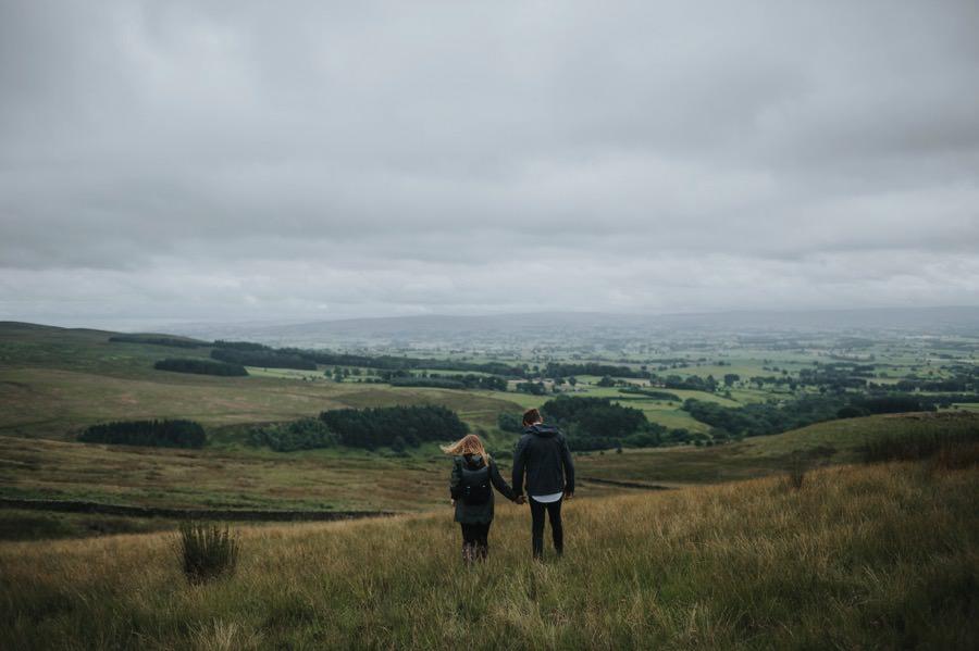 Yorkshire dales engagement