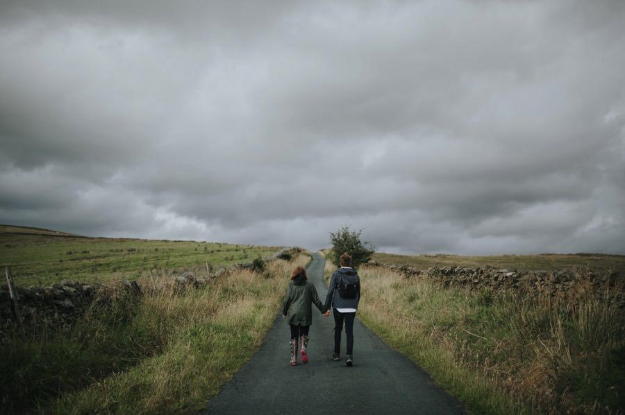 Sara & Dan | Yorkshire Dales engagement 21