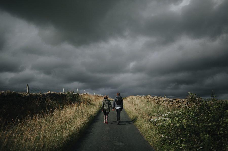 Sara & Dan | Yorkshire Dales engagement 22