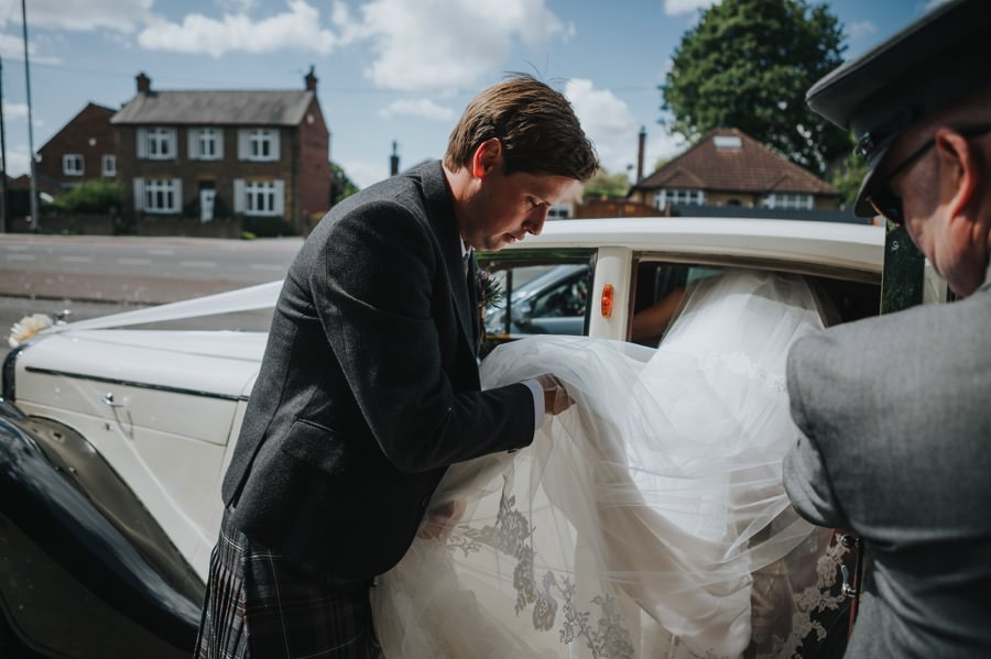 Nicola & Murray | Yorkshire equestrian wedding 66