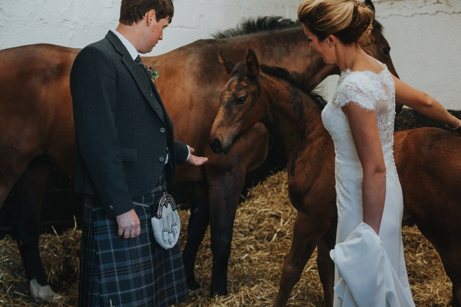 Nicola & Murray | Yorkshire equestrian wedding 122