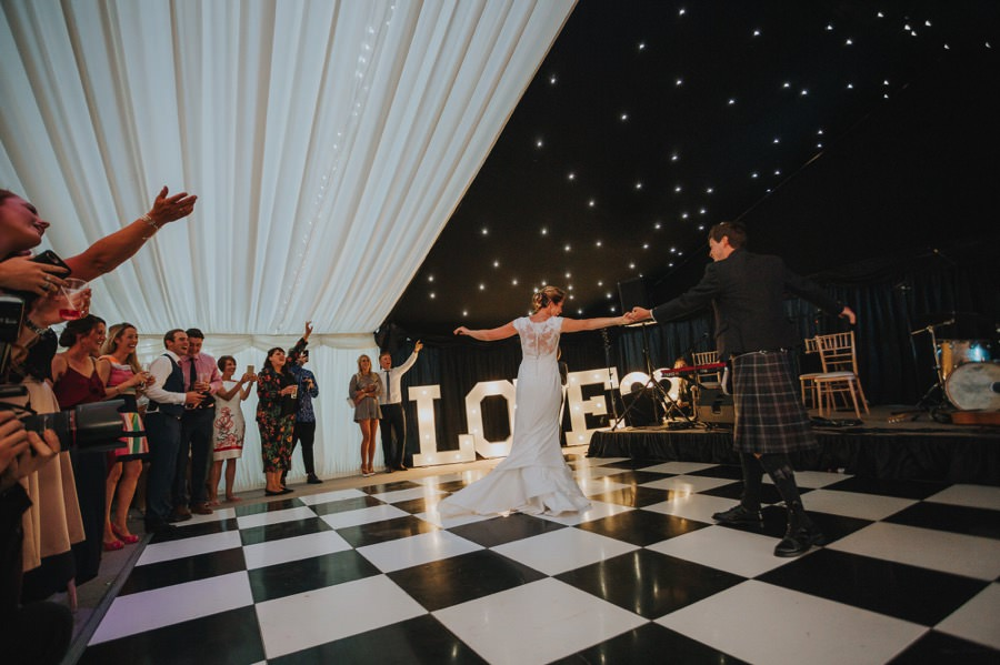 Nicola & Murray | Yorkshire equestrian wedding 272