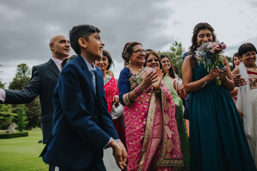 Emma & Krishan | Chippenham Park Wedding 149