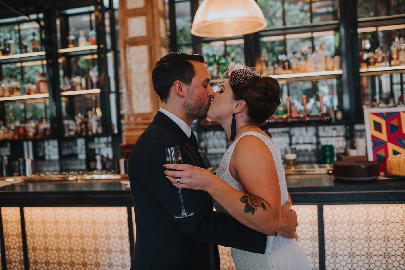 Hannah & Ste | Deaf Institute wedding 27