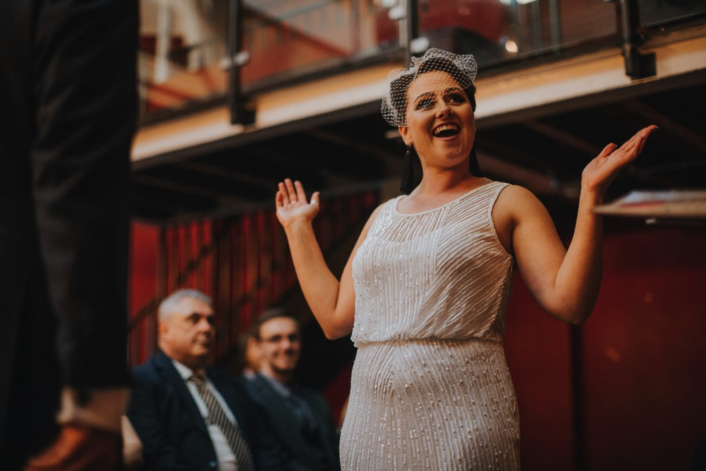 Hannah & Ste | Deaf Institute wedding 59
