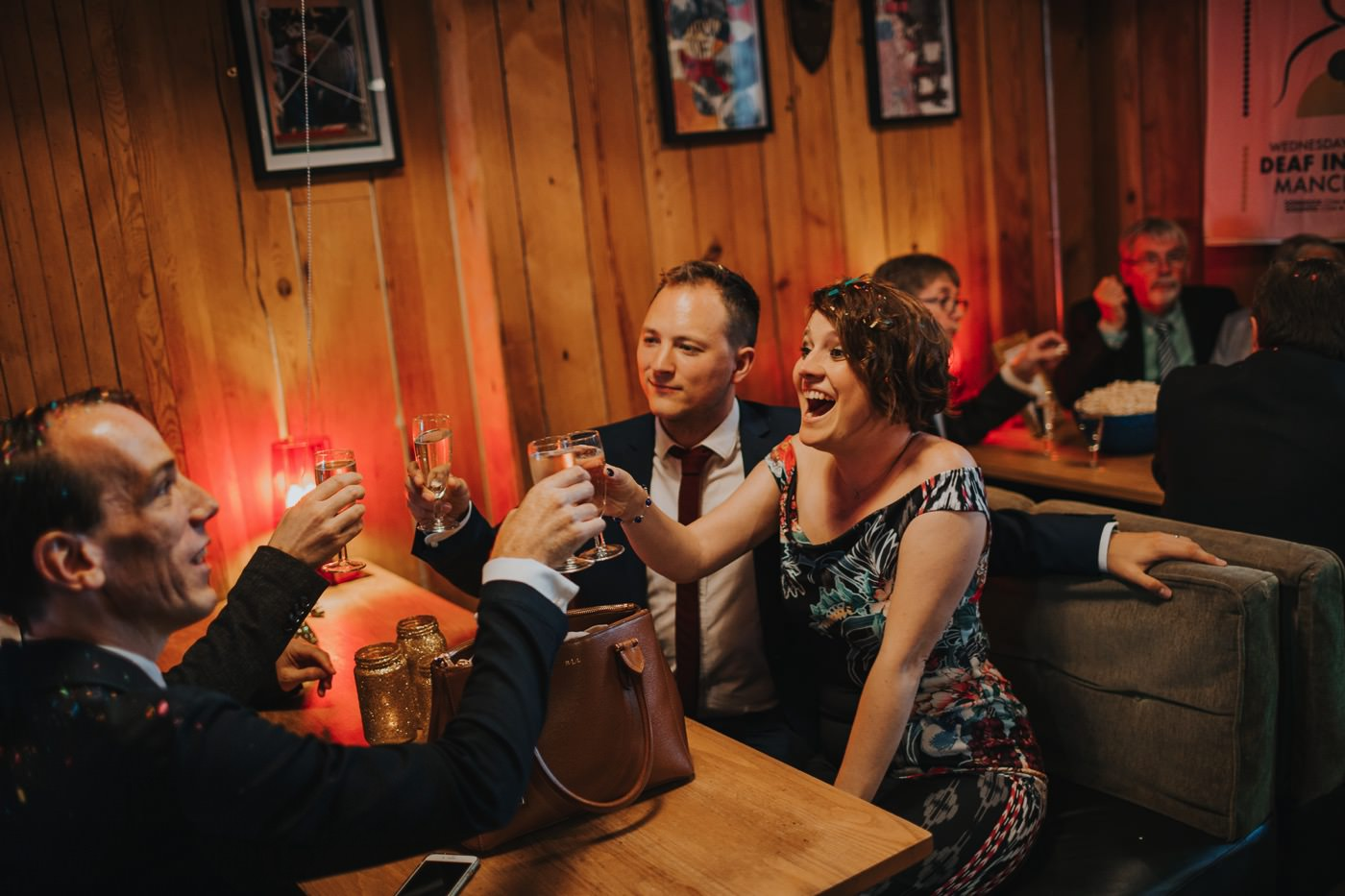 Hannah & Ste | Deaf Institute wedding 68